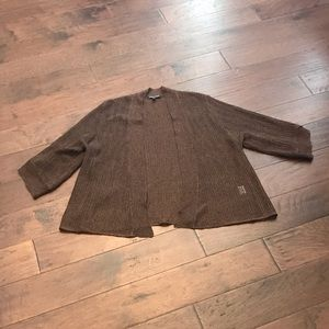 Eileen Fisher Short Sleeve Shrug - Silk Blend XL